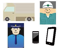 クラウド勤怠管理システム輸送・警備・工事・農業