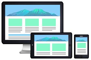 ホームページ制作 ipad